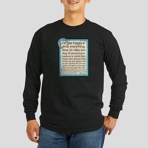 Farrier's Lament Long Sleeve Dark T-Shirt
