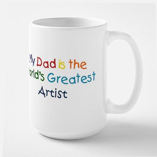 Greatest Artist Large Mug