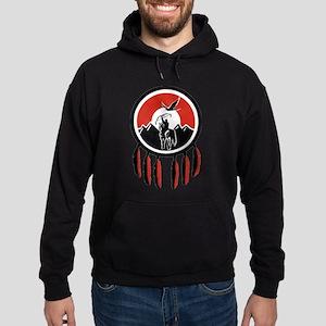 Indian Shield Hoodie (dark)