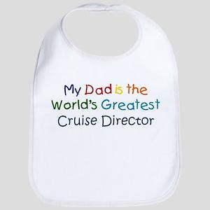 Greatest Cruise Director Bib