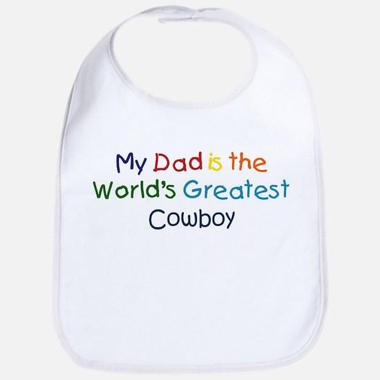 Greatest Cowboy Bib