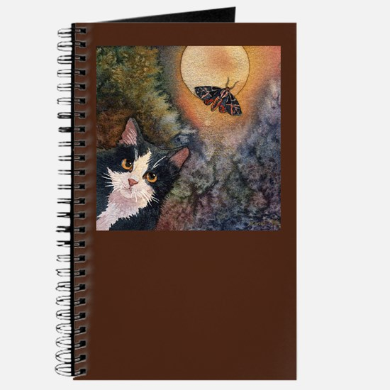 Tuxedo Cat, Moonlight, and Mo Journal