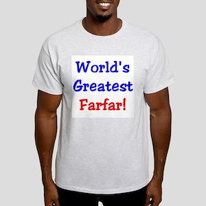 World's Greatest Farfar Ash Grey T-Shirt