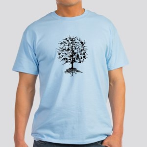 Guitars Tree Roots Light T-Shirt