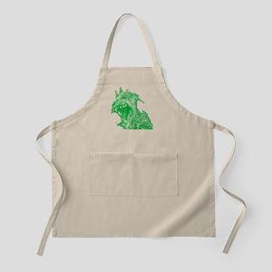 Green Chupacaba BBQ Apron