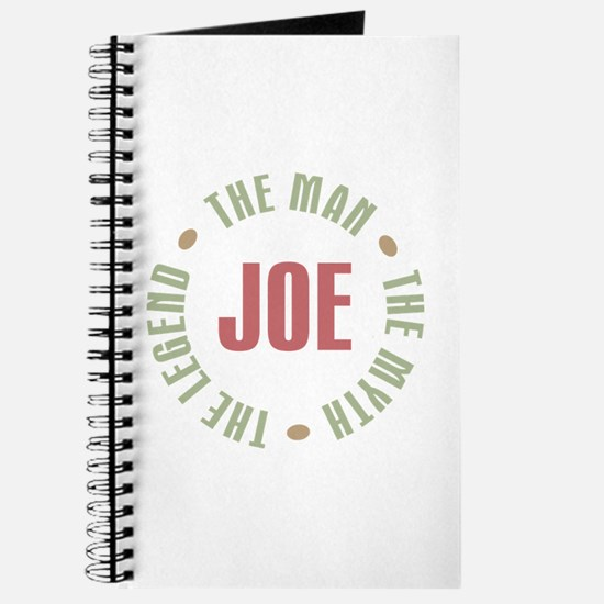 Joe Man Myth Legend Journal