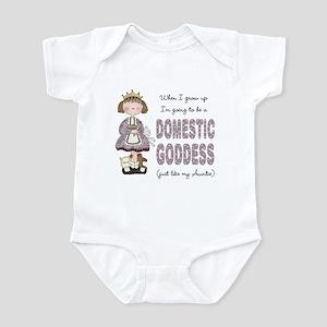 Domestic Goddess Like Auntie Infant Bodysuit