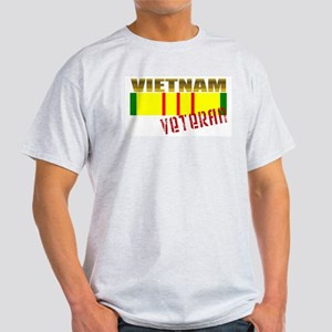 Vietnam Veteran Ribbon White T-Shirt