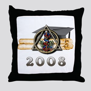 Dental Grad 2008 Throw Pillow
