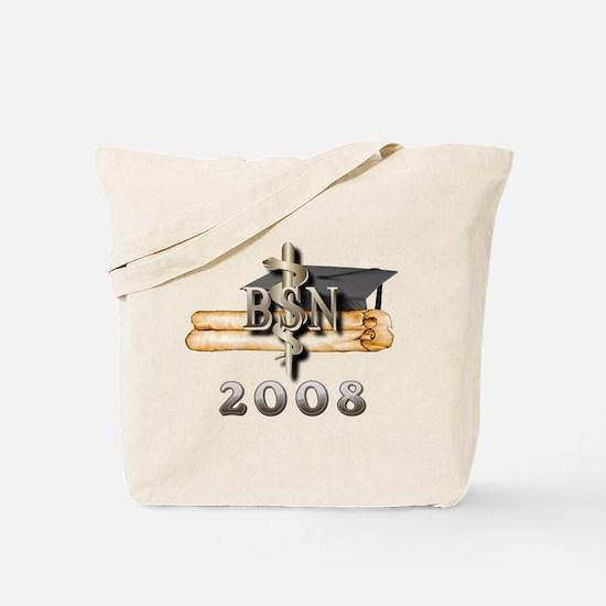 BSN Grad 2008 Tote Bag