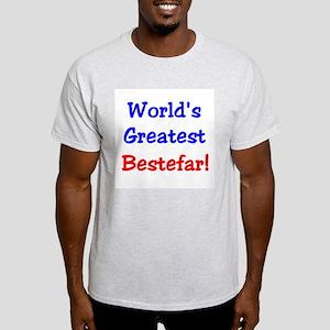 World's Greatest Bestefar Ash Grey T-Shirt