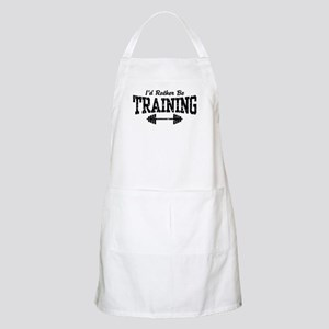 I'd Rather Be Training BBQ Apron
