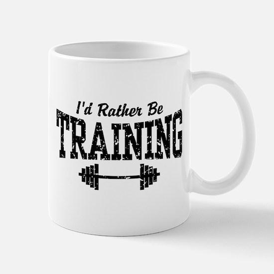 I'd Rather Be Training Mug