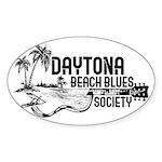 Daytona Beach Blues Society Sticker