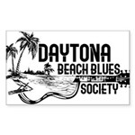 Dsaytona Beach Blues Society Sticker
