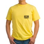 Yellow Double Graphic T-Shirt