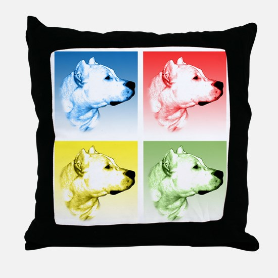 Dogo Pop Throw Pillow