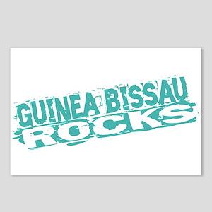 Guinea Bissau Rocks Postcards (Package of 8)