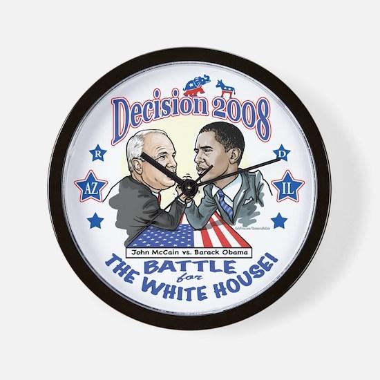 Obama vs McCain 2008 Wall Clock