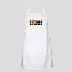 Gay Pride Whatever BBQ Apron