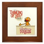 Thinking of You Framed Tile