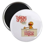 "Thinking of You 2.25"" Magnet (100 pack)"