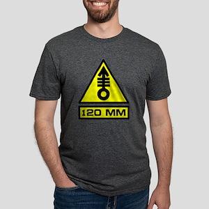120mm Warning T-Shirt