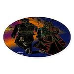 My Grafitti Future Oval Sticker