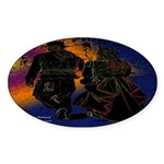My Grafitti Future Oval Sticker (10 pk)
