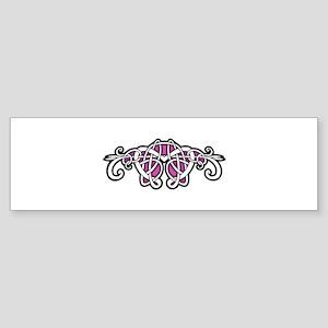 CELTIC6_PINK Bumper Sticker