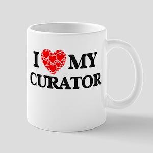 I Love my Curator Mugs
