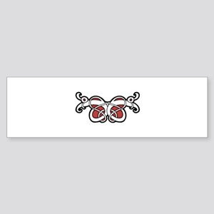 CELTIC16_RED Bumper Sticker