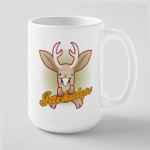 Attack Jackalope Large Mug