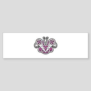 CELTIC17_PINK Bumper Sticker