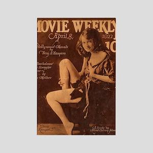 Doris Kenyon 1922 Rectangle Magnet