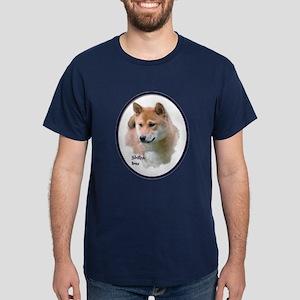 Shiba Inu Art Dark T-Shirt