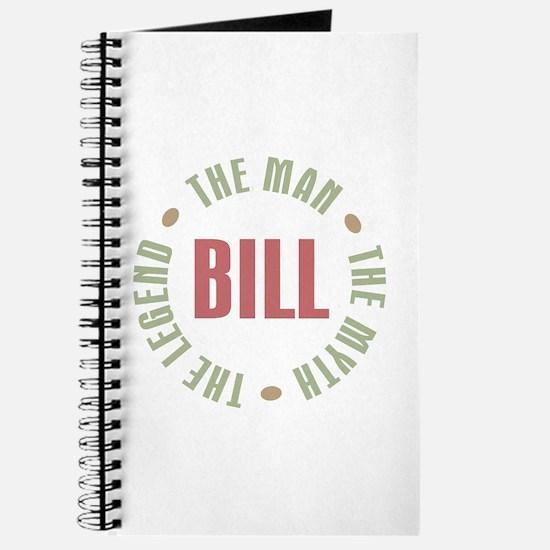 Bill Man Myth Legend Journal