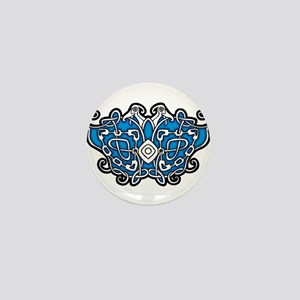 CELTIC24_BLUE Mini Button