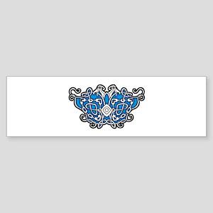 CELTIC24_BLUE Bumper Sticker