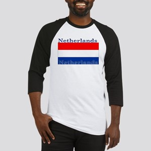 Netherlands Dutch Flag Baseball Jersey
