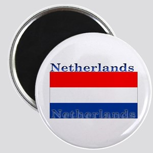 Netherlands Dutch Flag Magnet