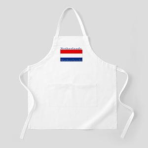 Netherlands Dutch Flag BBQ Apron