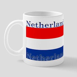 Netherlands Dutch Flag Mug