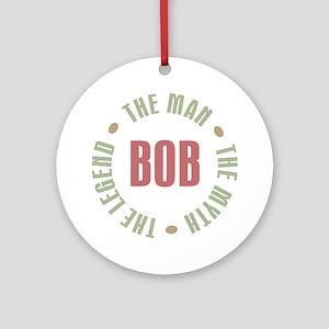Bob Man Myth Legend Ornament (Round)