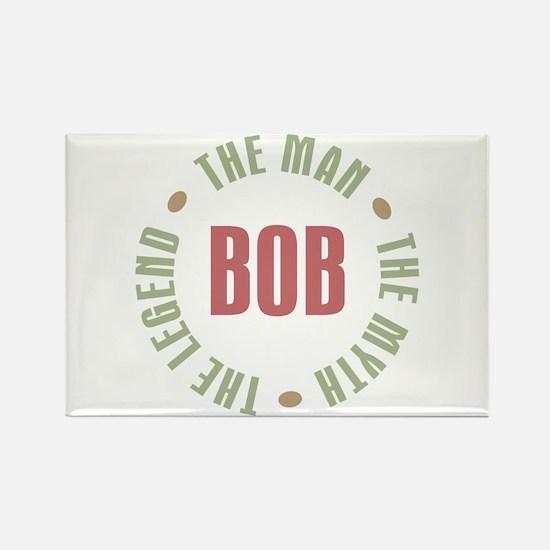Bob Man Myth Legend Rectangle Magnet (10 pack)