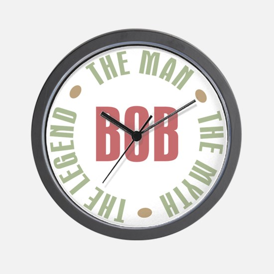 Bob Man Myth Legend Wall Clock