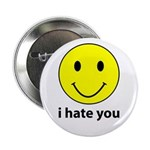 "i hate you 2.25"" Button (10 pack)"