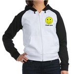 i hate you Women's Raglan Hoodie