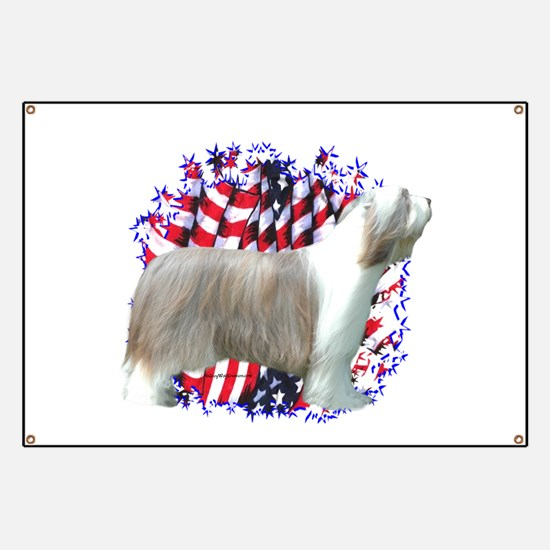 Bearded Patriotic Banner