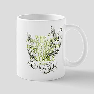 Buddha - Noble Text - Green Mug
